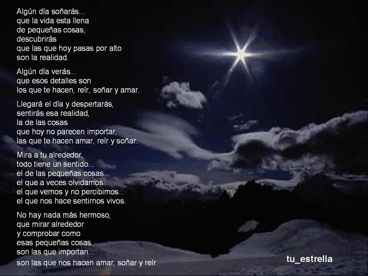 estrella frases de amor pequeno poemas de amor poesia categorias mar
