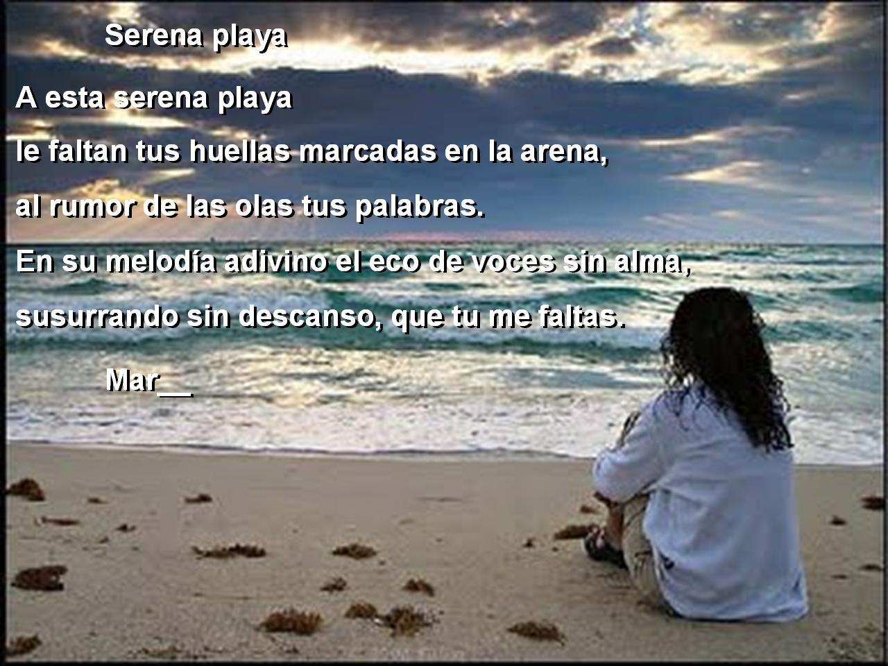Poemas con imagenes Mar__022-serena-playa
