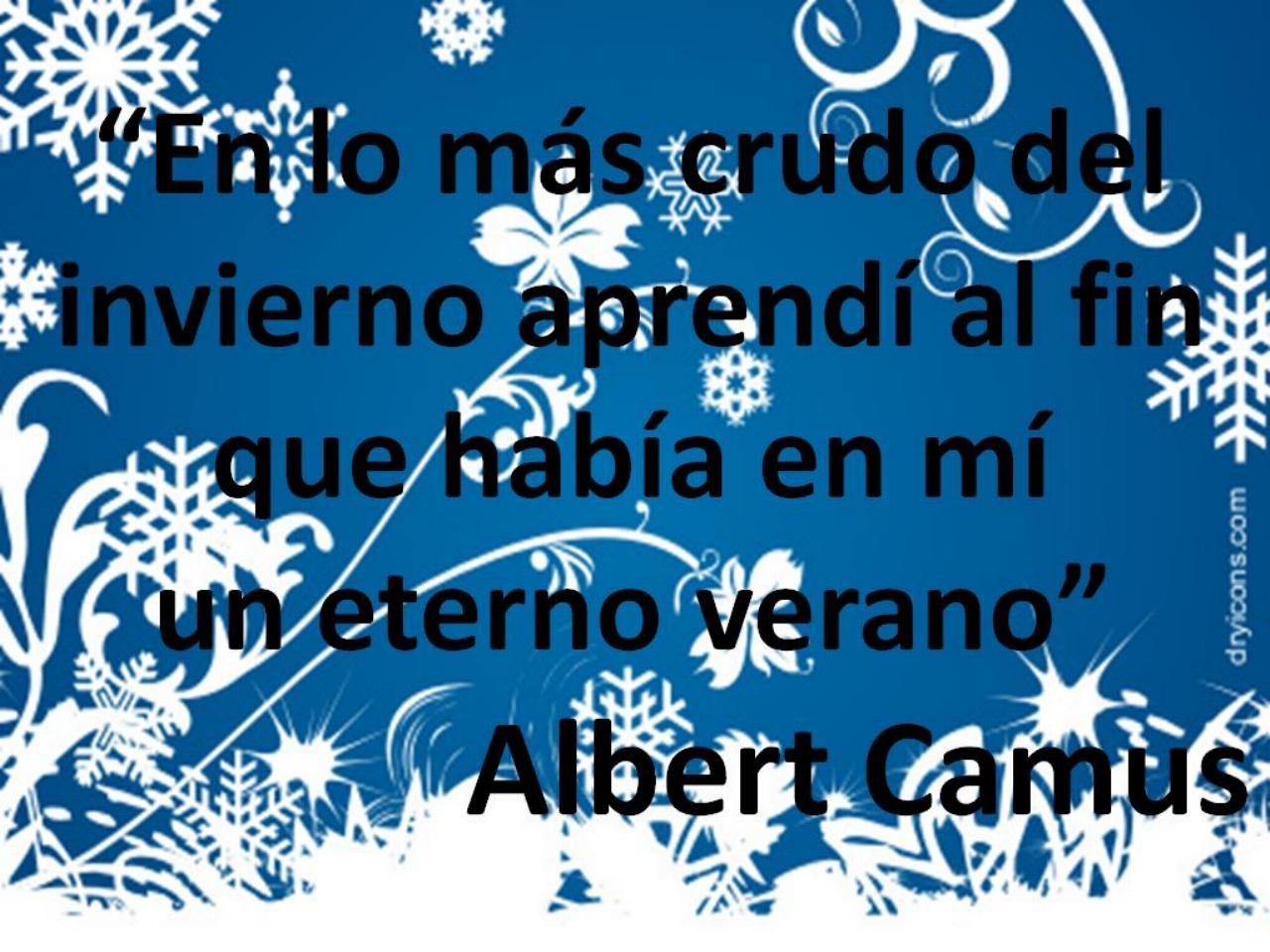 Invierno ana n y amigos for Poemas de invierno