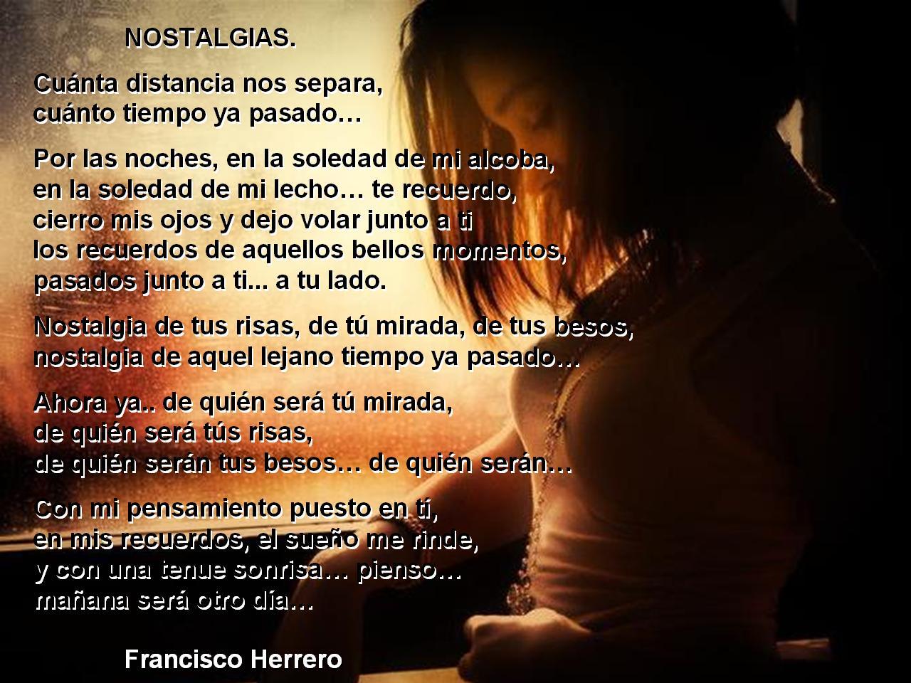 poemas de nostalgia