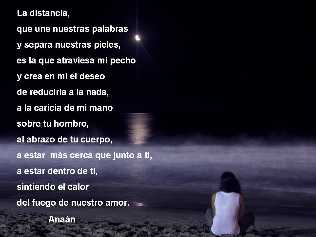 poemas de la distancia