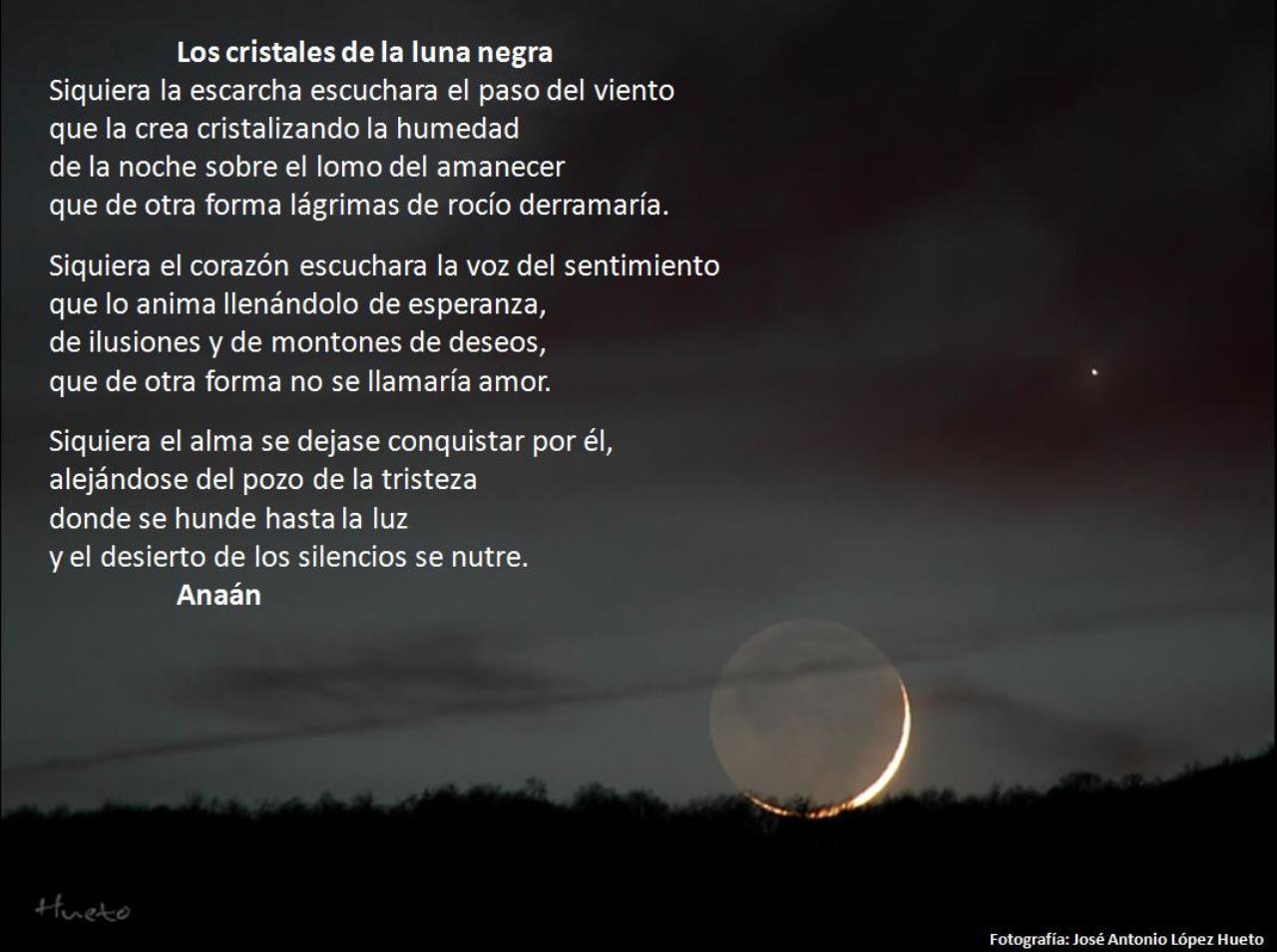 Los Cristales De La Luna Negra